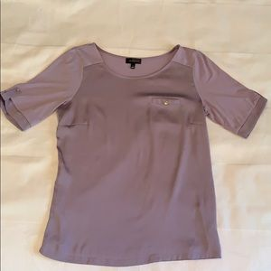 Purple The Limited Top